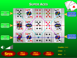 Super Aces Poker Slots Game